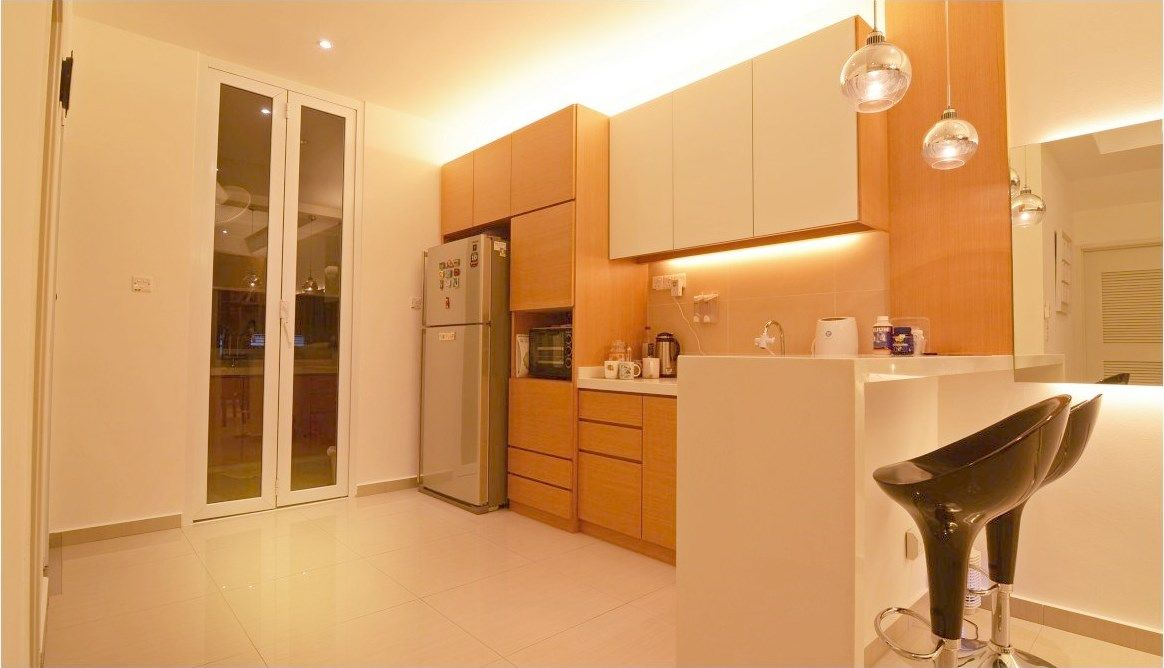 Nice And Simple Dry Kitchen That Doesnt Look Too Plain Designed By JGiConcept