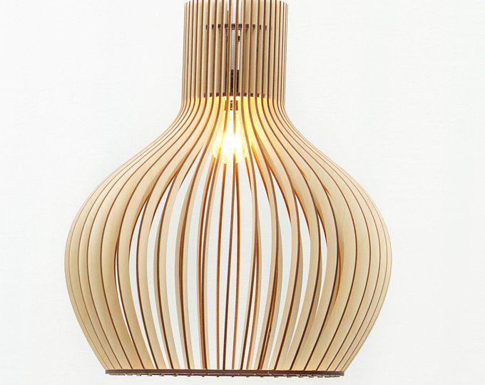 Bereits Eingebauten Holz Lampen / Hängeleuchte Holz / Holz Lampe / Lampe /  Lampen / Beleuchtung