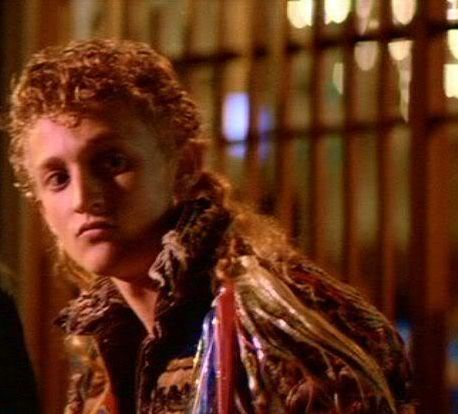 Alex Winter as 'Marko' in the 1987 movie 'The Lost Boys'.
