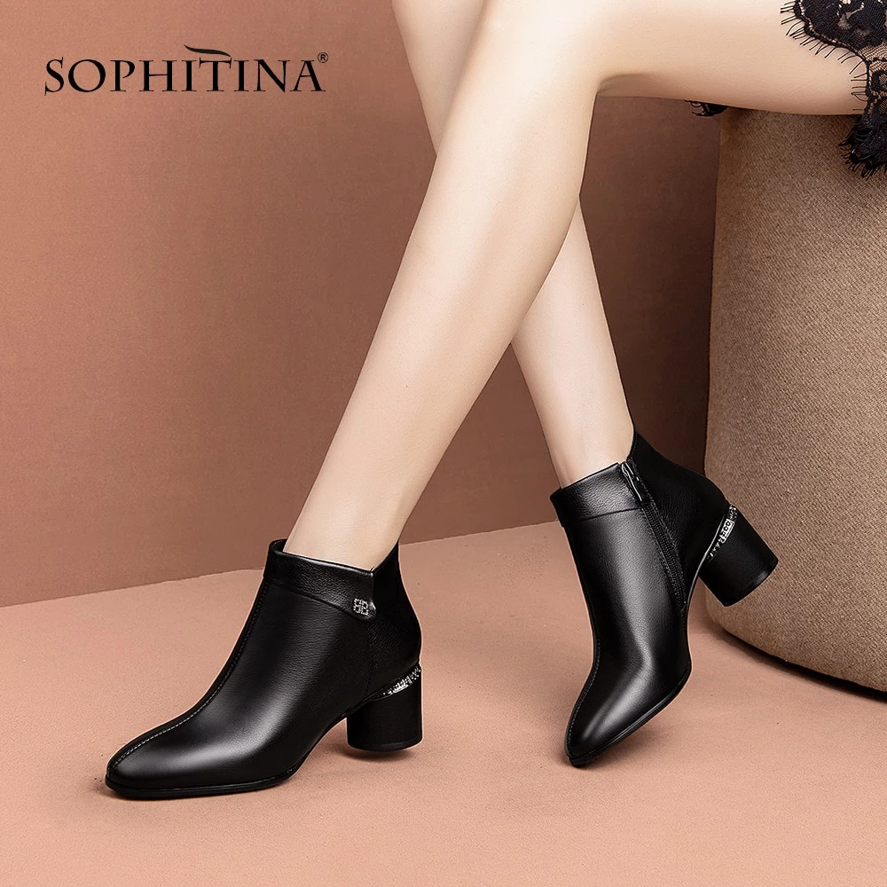 Quality.A Womens Round Toe Ankle Boots Fashion Boots Ankle Boots
