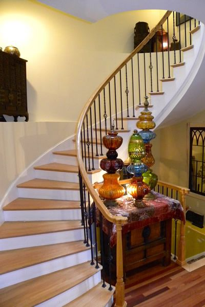 Capitol Hill House And Garden Tour Used Spiral Staircase For Home Washington