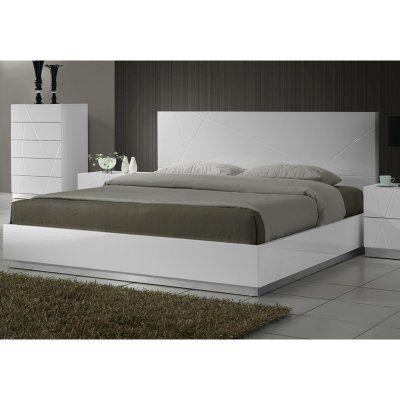 J&M Furniture Naples Platform Bed - 17686-T