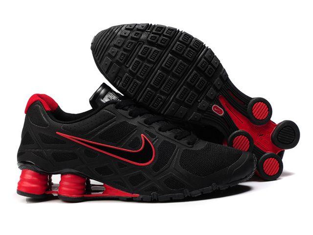 tumblr discount choix à vendre Nike Shox Mens Noir Et Rouge vente pré commande KWZ2g4J