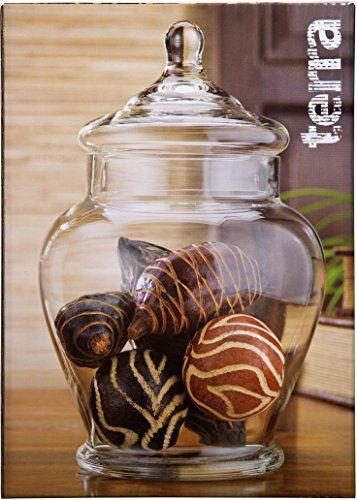 Decorative Spice Jars Captivating Elegant Clear Glass Apothecary Jar With Lid 11Inch High Glass Inspiration