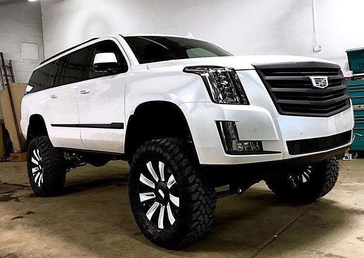 #Cadillac #Escalade #Lifted | Family Rig | Chevy trucks, Lifted trucks, New trucks