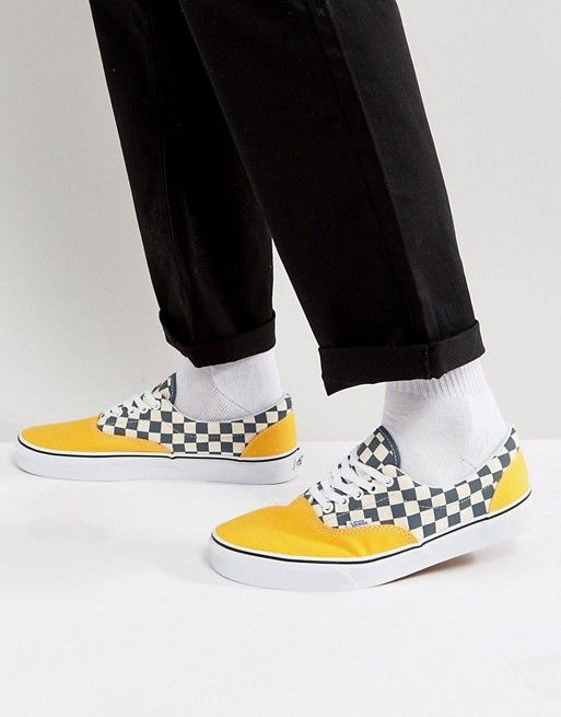 vans slip on checkerboard asos