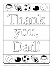 Thank You Dad Coloring Page Children S Bible Activities Sunday School Activities For Kids Childrens Bible Activities Sunday School Crafts For Kids Father S Day Activities