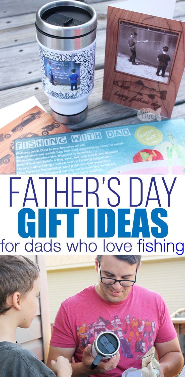 A reely cool fathers day gift idea for dads who love