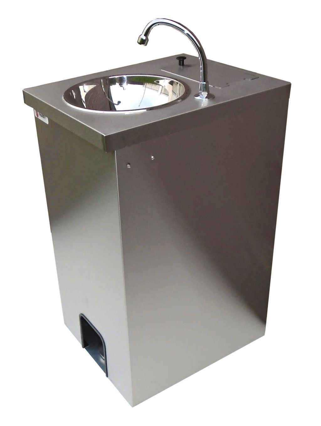 Electric Portable Sink Hot Hand Wash St Steel Cupboard 25 Lts Foot