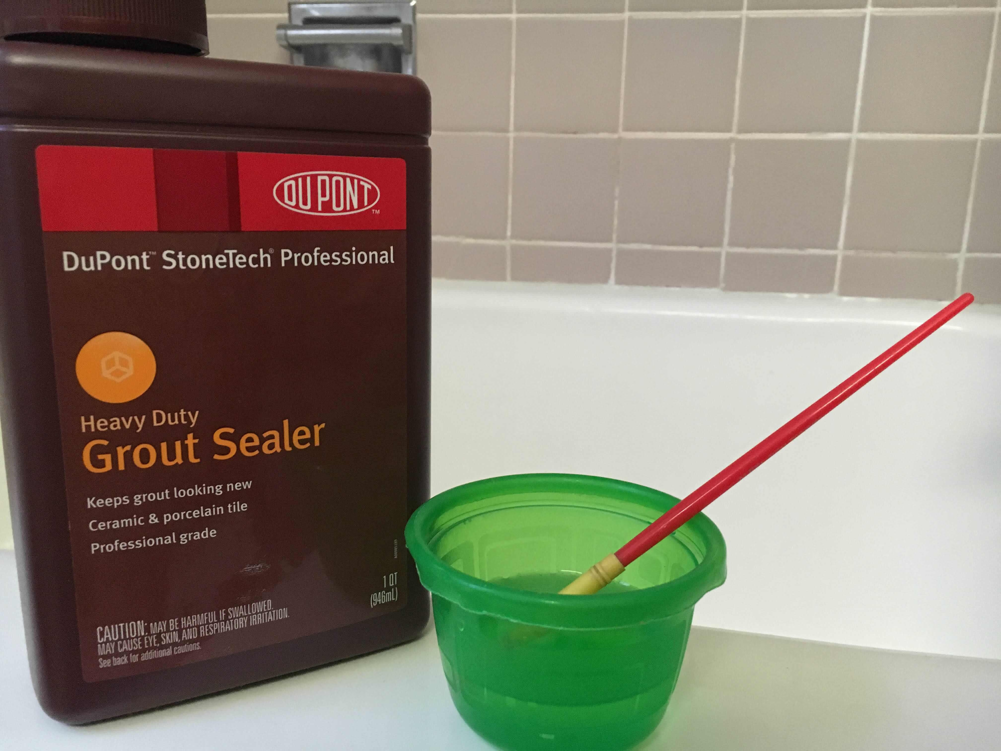 Sealing the grout in a shower adds years of longevity to