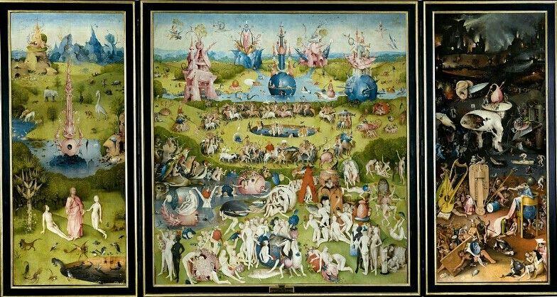 Hieronymus Bosch - Il giardino delle delizie 1480-90