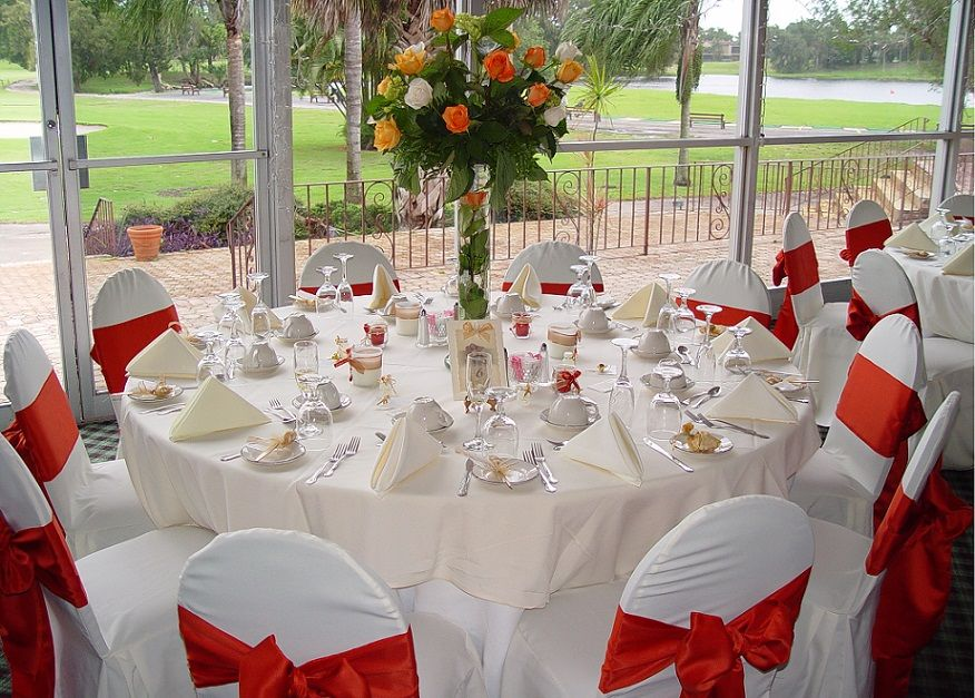 Wedding table centerpiece decorations elegant wedding reception wedding table centerpiece decorations elegant wedding reception desk decoration with red and white junglespirit Images