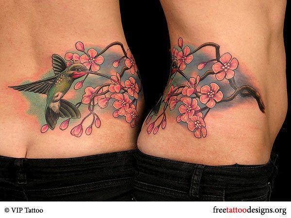 d3cd0da43ee1b Hummingbird Cherry Blossom Tattoo Images   Hummingbird and cherry blossom  tattoo