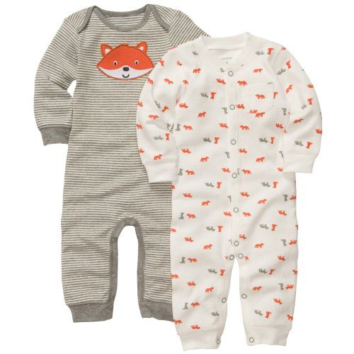 c6c857c23acd Carter s Baby Boys 2-pack Jumpsuits (Newborn