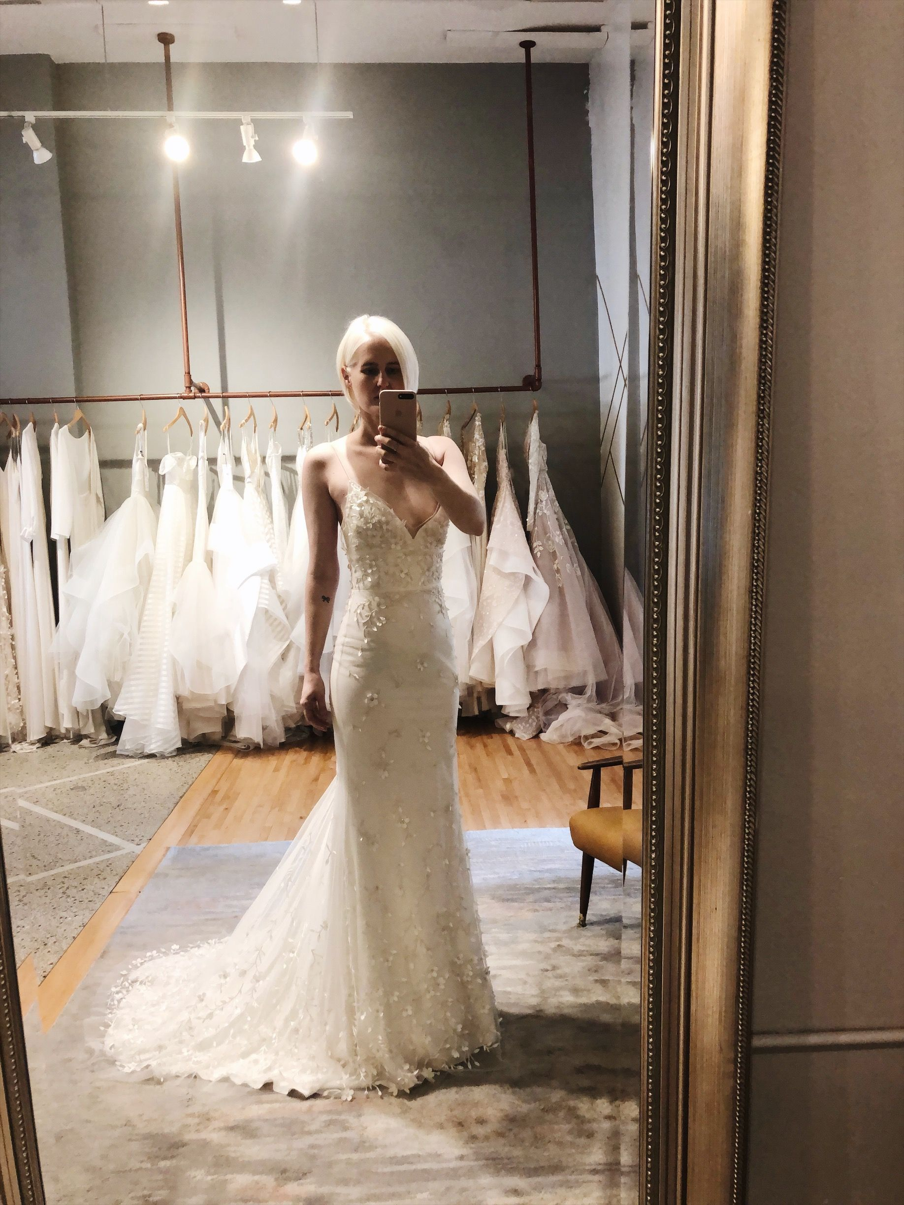 Alexandra Grecco Wild Honey Collection The Billie Gown Is The
