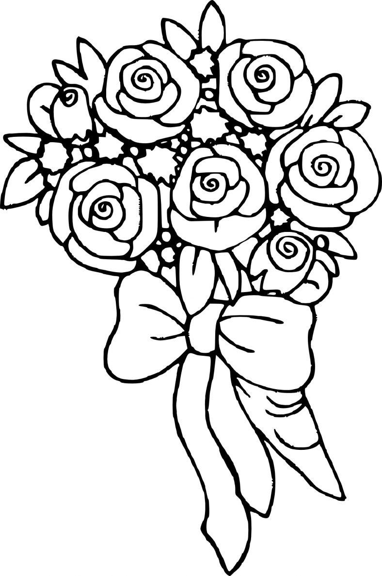 Rose Coloring Pages Realistic (With images)   Flower ...