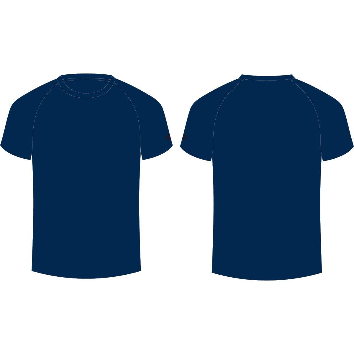 Navy Blue T Shirt Shirt Template Blue Tshirt