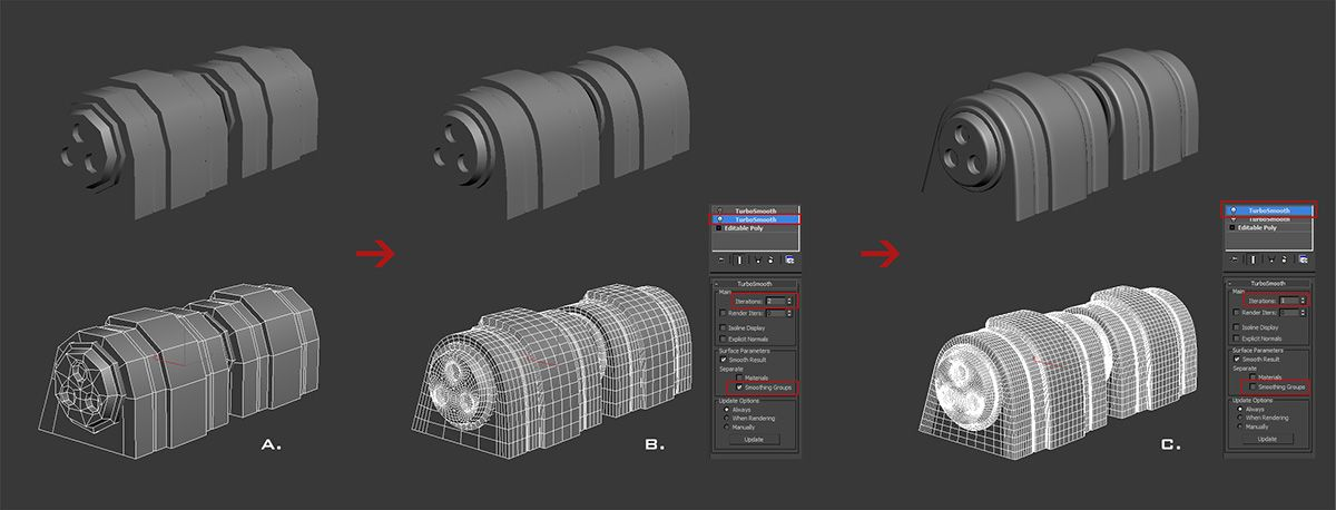 Creating Hard Surfaces In 3ds Max 3ds Max Hard Surface Modeling Metal Texture