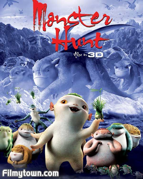Cute Foreign Film Monster Hunt A Mythical Land Where Monsters And Humans Coexist On Netflix My Toddler Thought It Was Monster Hunt Monster Good Movies