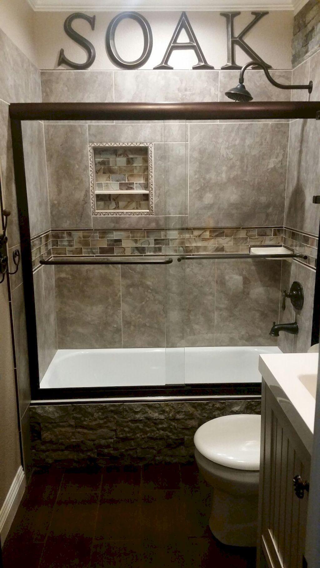 55 Cool Small Master Bathroom Remodel Ideas Remodelacion De