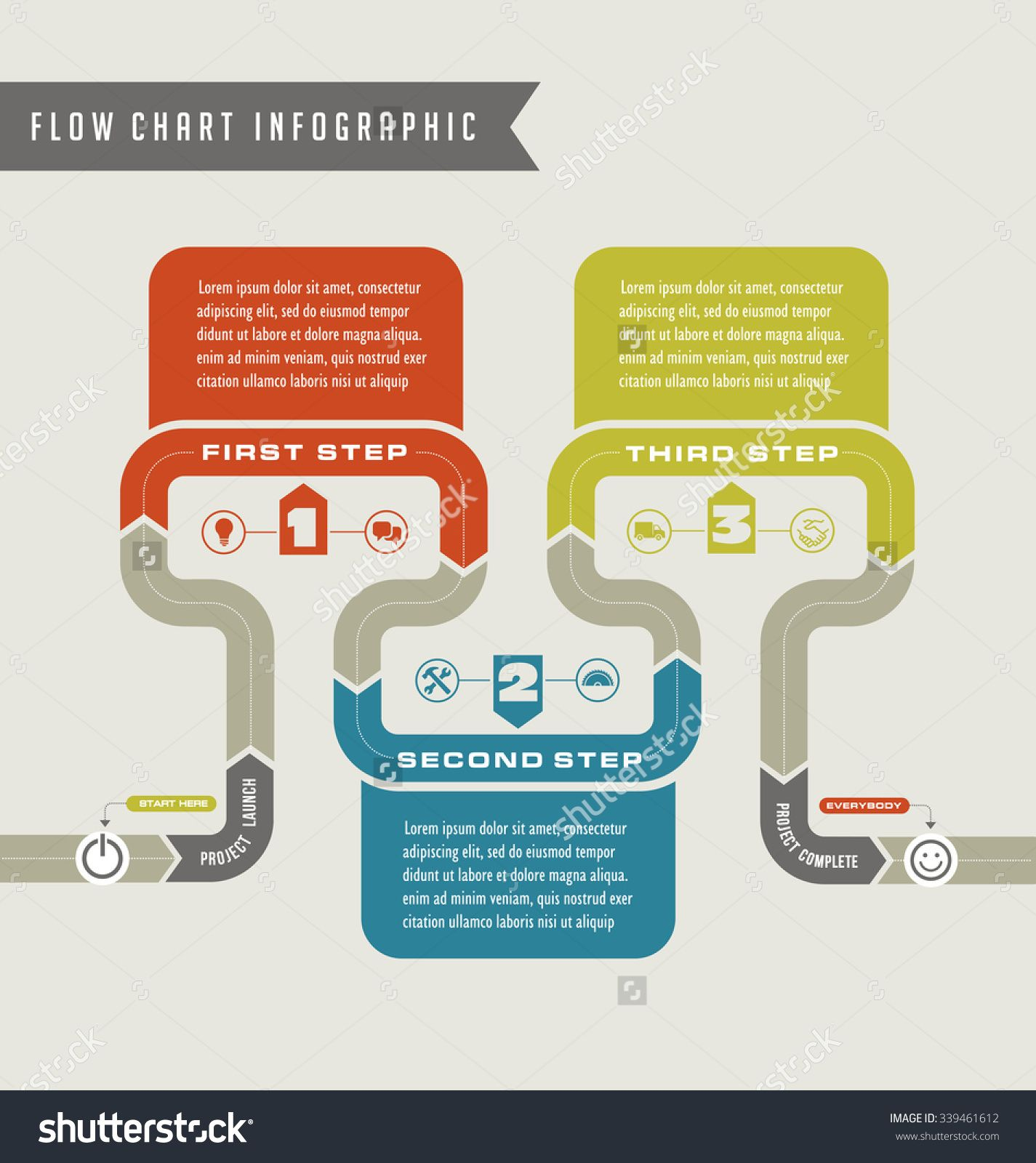 Image result for infographic flow infographics pinterest vector flow chart template infographic buy this stock vector on shutterstock find other images ccuart Images