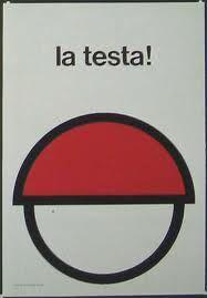 EUGENIO CARMI..cartelli antinfortunistici