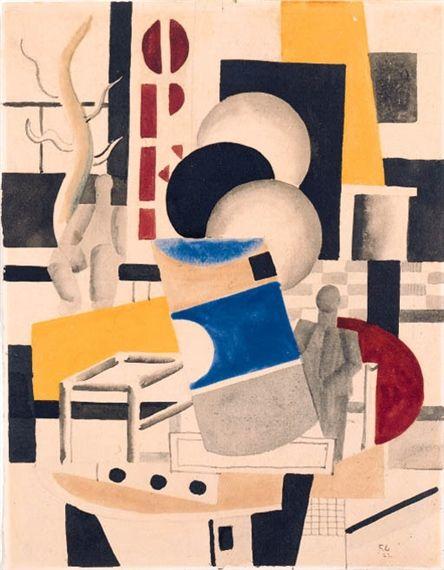 Fernand Léger, Etude pour Le remorquer