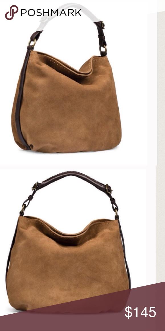 f2988104e6 UGG Heritage Suede and Leather Hobo Handbag Gorgeous Ugg Tan Suede Leather  Handbag. UGG Bags Hobos