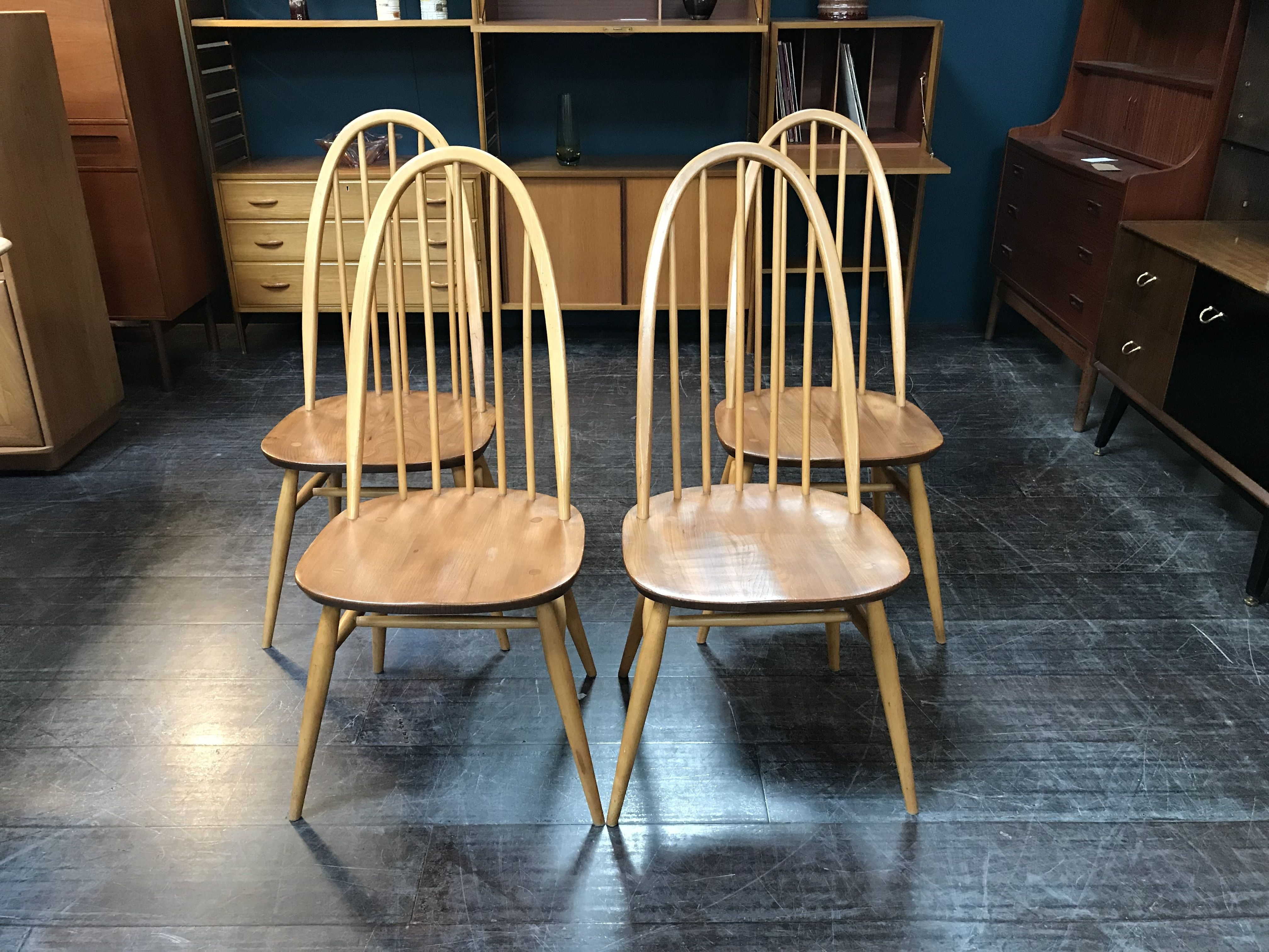 Beech Windsor Quaker Dining Chairs