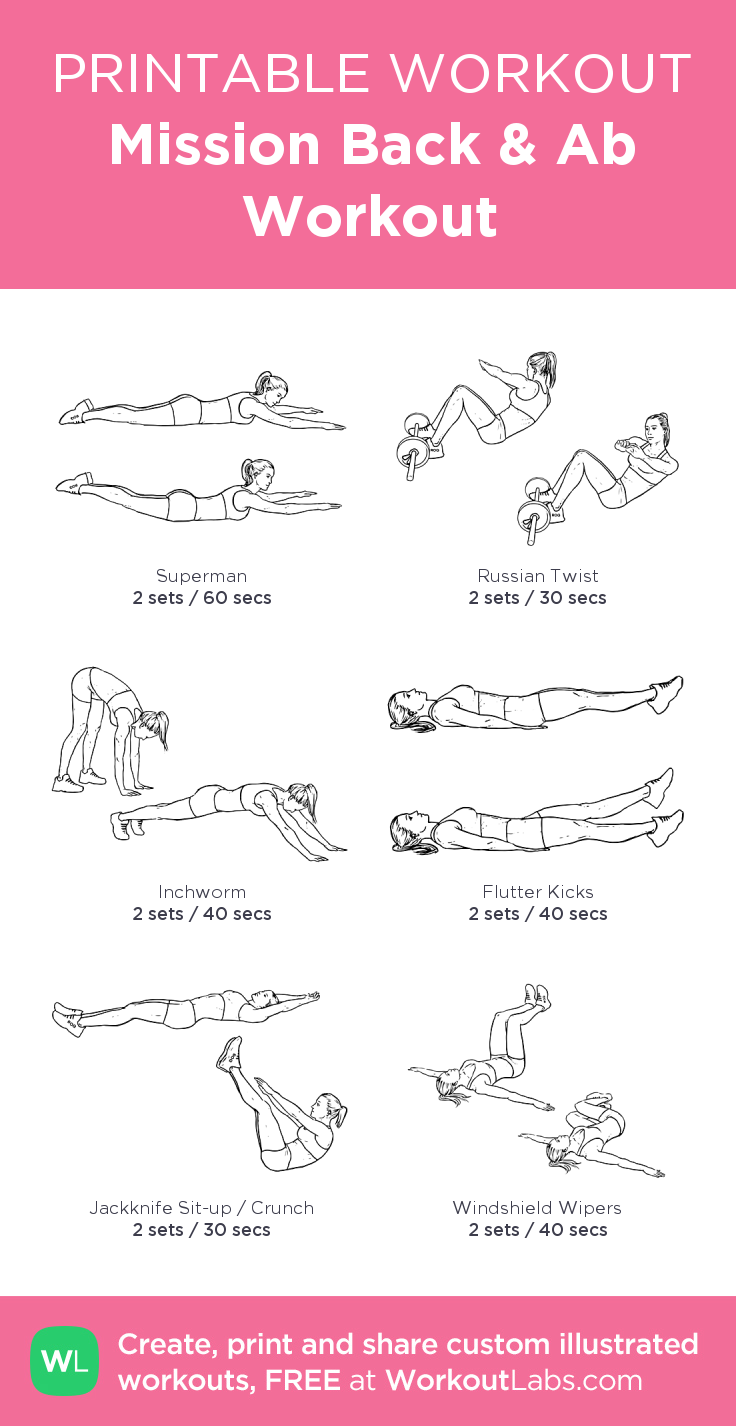 It is a graphic of Printable Workouts at Home within pdf