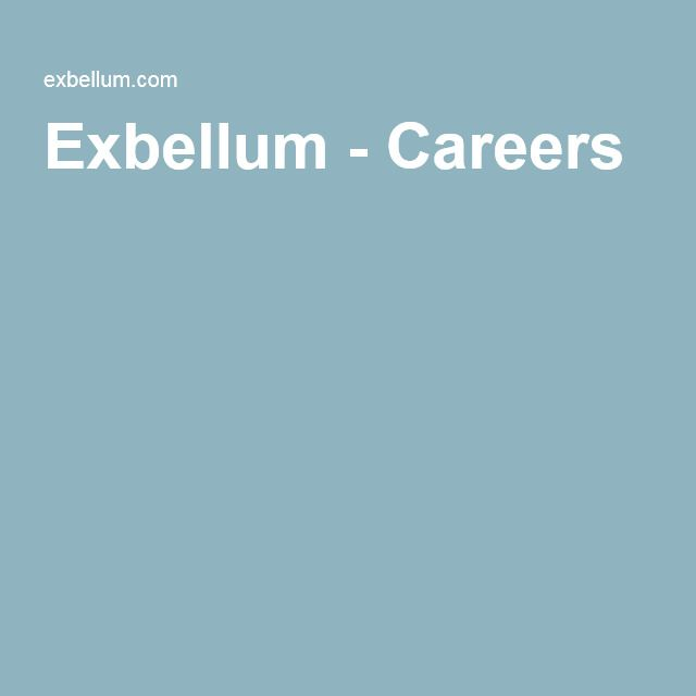 Exbellum - Careers Job/ career Pinterest