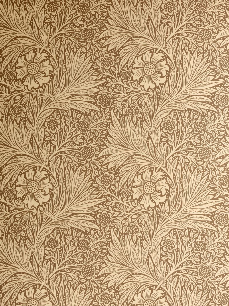 William Morris gold wallpaper