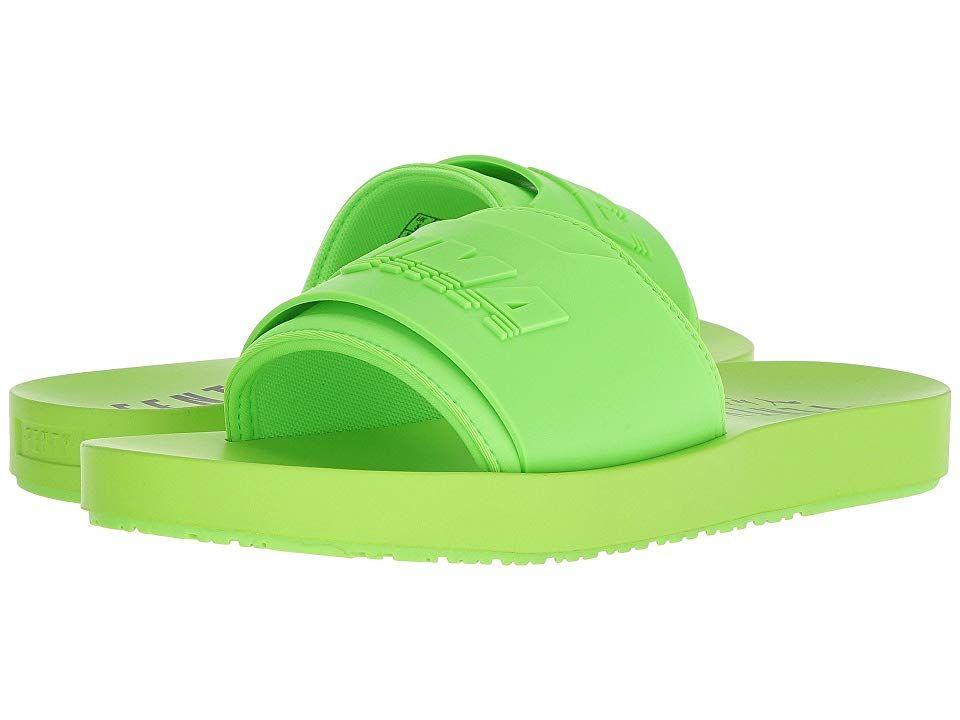 006ddef3cd68b PUMA PUMA x Fenty by Rihanna Surf Slide Women's Slide Shoes Green ...