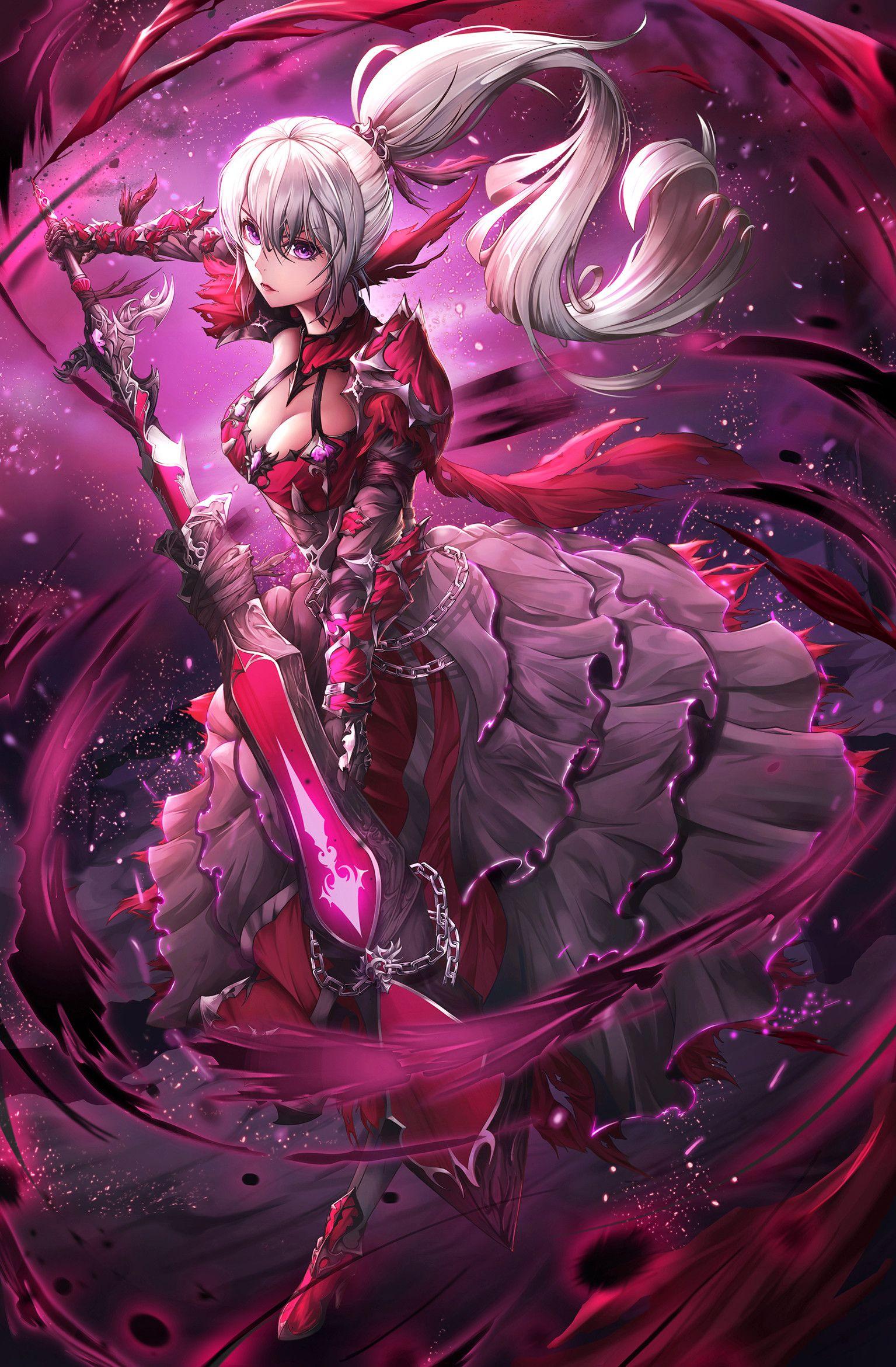 Artstation Dark Knight Ji Hyeong Kim Fantasy Art Warrior Anime Warrior Cool Anime Pictures