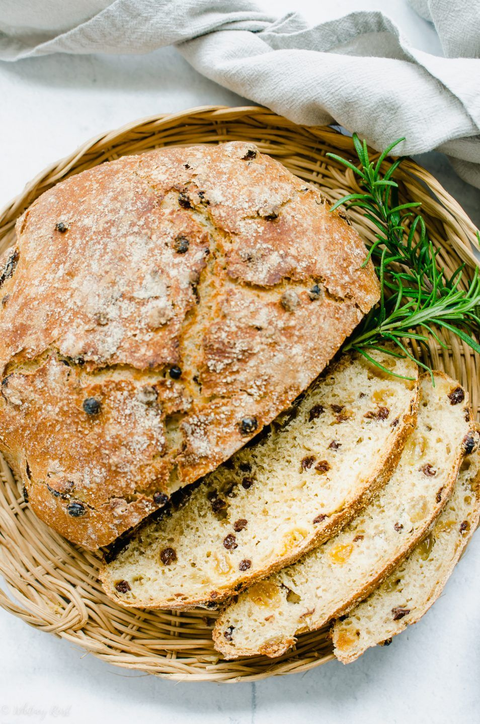 Dutch Oven Rosemary Raisin Bread | Recipe (With images ...