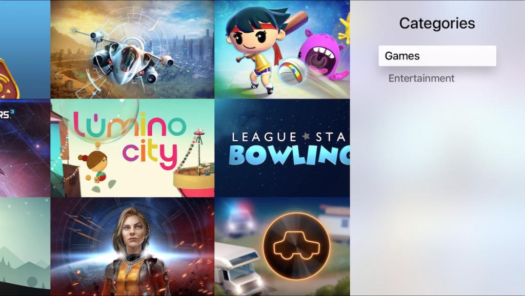 Riavviate la Apple TV: ora ci sono le Categorie