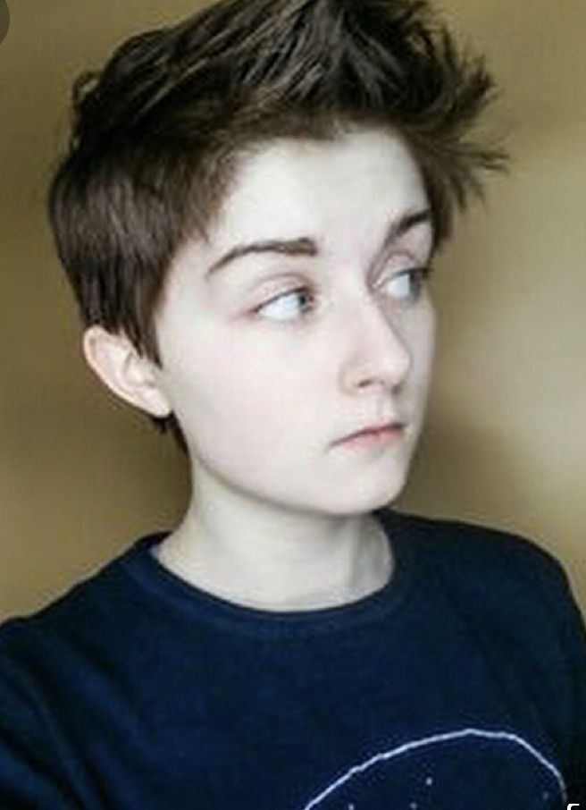 28+ Ftm haircuts round face inspirations