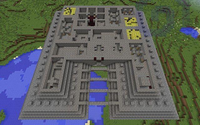 Ocean Monument Minecraft Map Minecraft City Buildings Minecraft