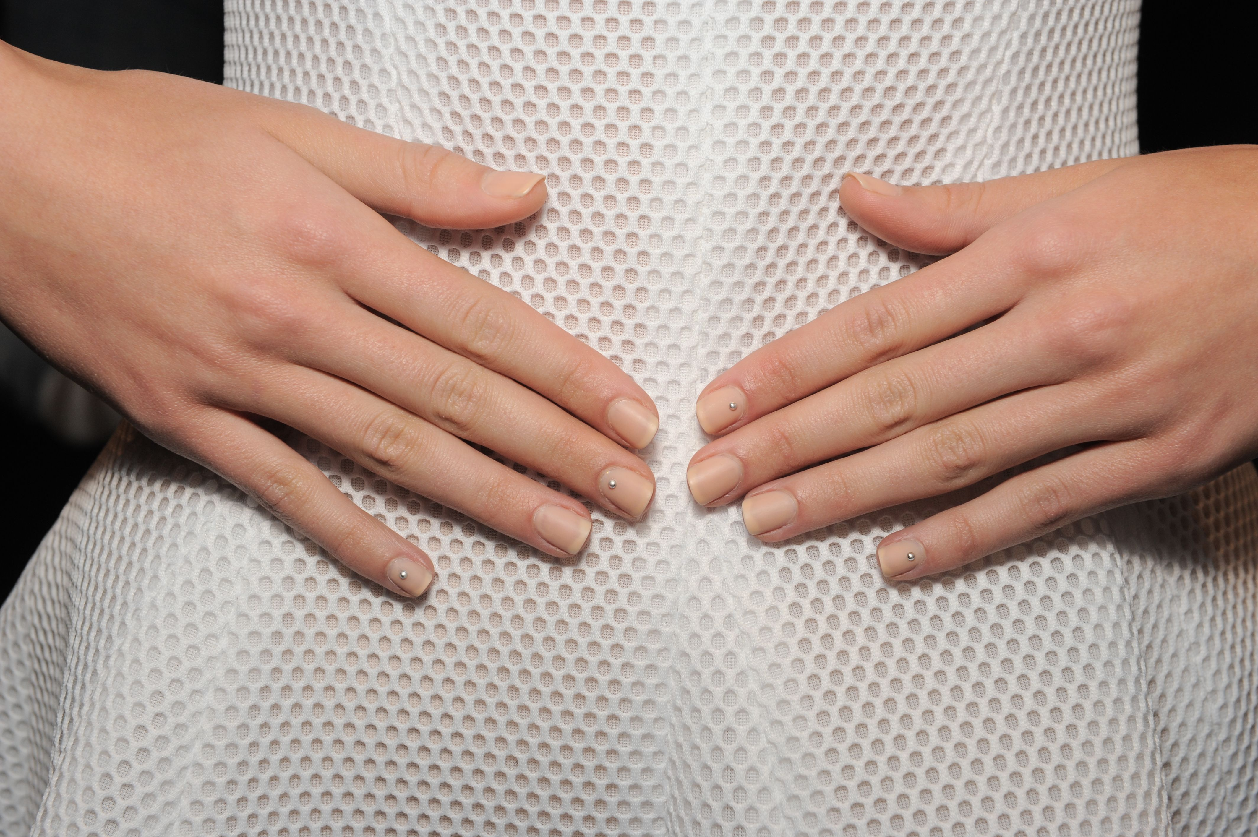Lela Rose. Nails by Katie Jane Hughes of butter LONDON. #NYFW ...