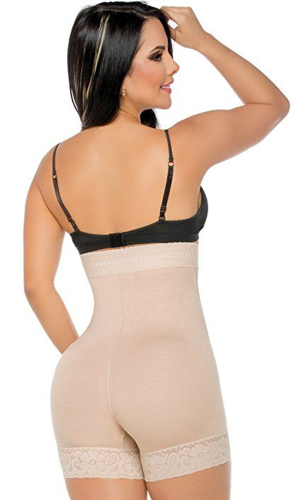 9aa36e25ad Fajas Colombianas Salome 0218 Levanta Cola Invisible Strapless Butt Lifter  at Amazon Women s Clothing store