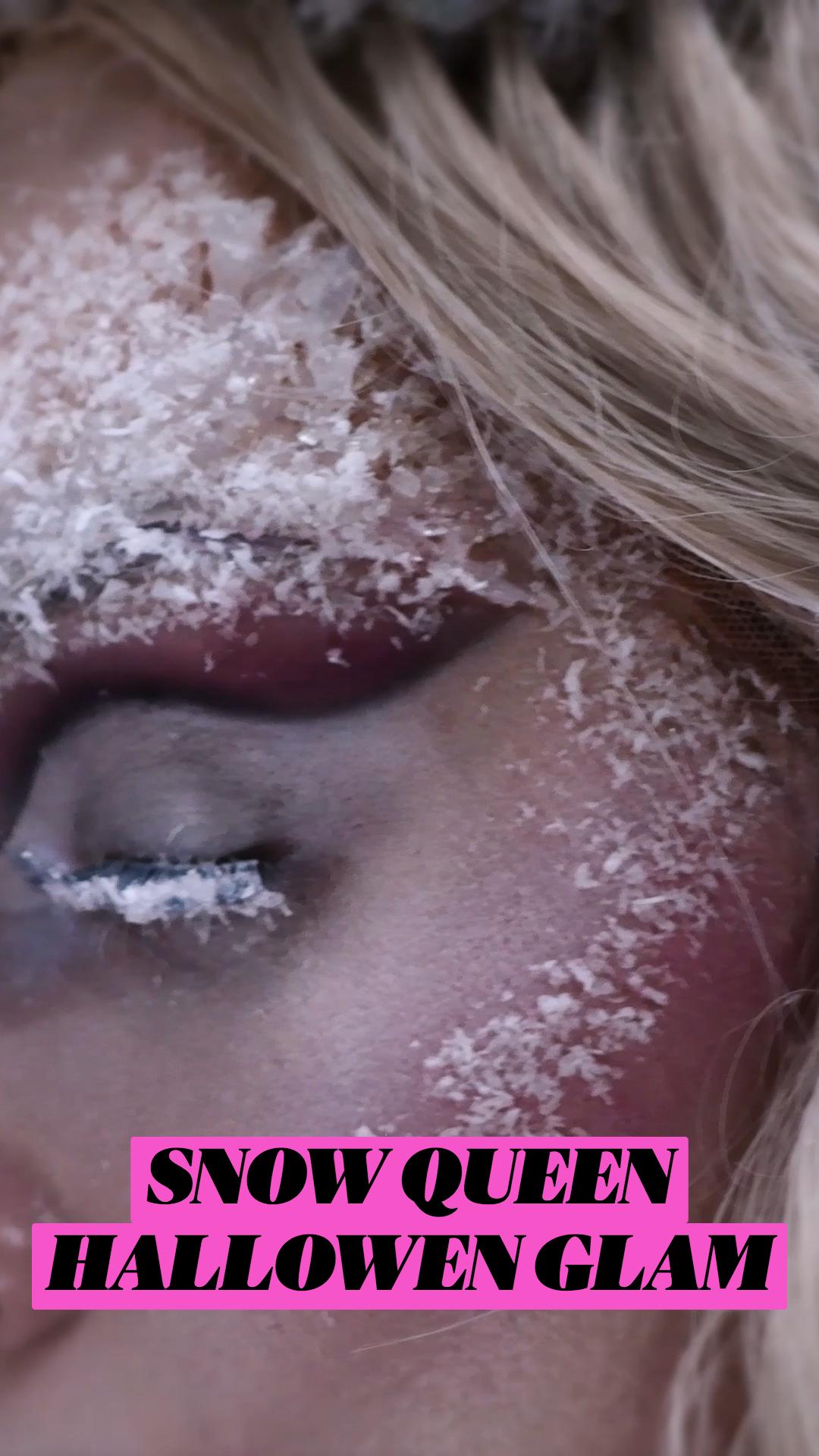SNOW QUEEN HALLOWEN GLAM