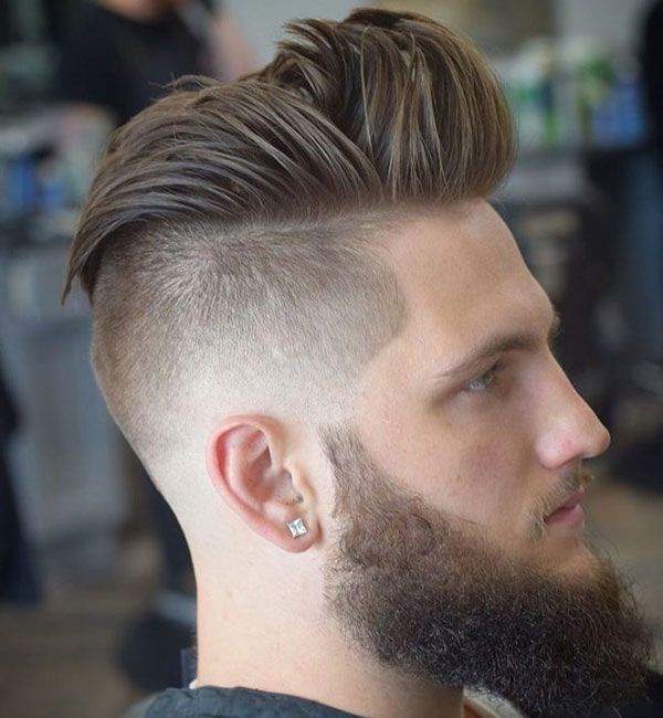 Taper Fade Haircuts Undercut Hairstyles Mens Hairstyles Pompadour