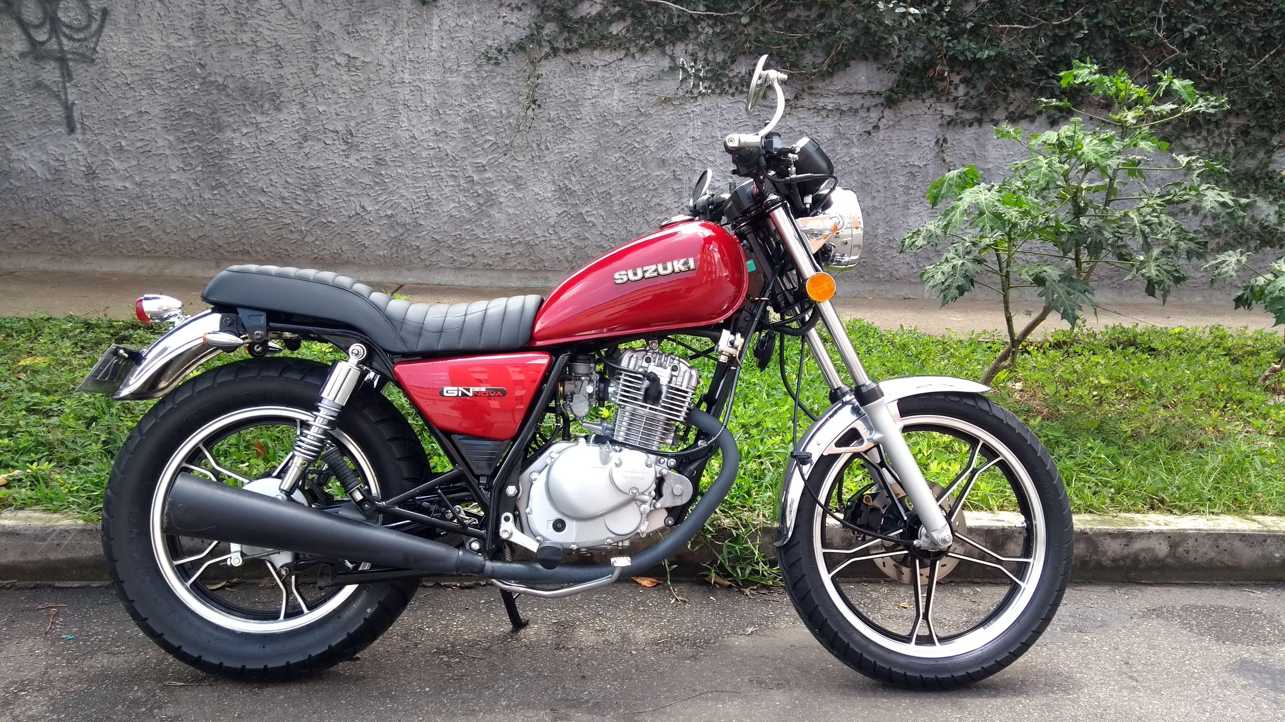 suzuki gn 125 modificada colombia motos y autos honda. Black Bedroom Furniture Sets. Home Design Ideas