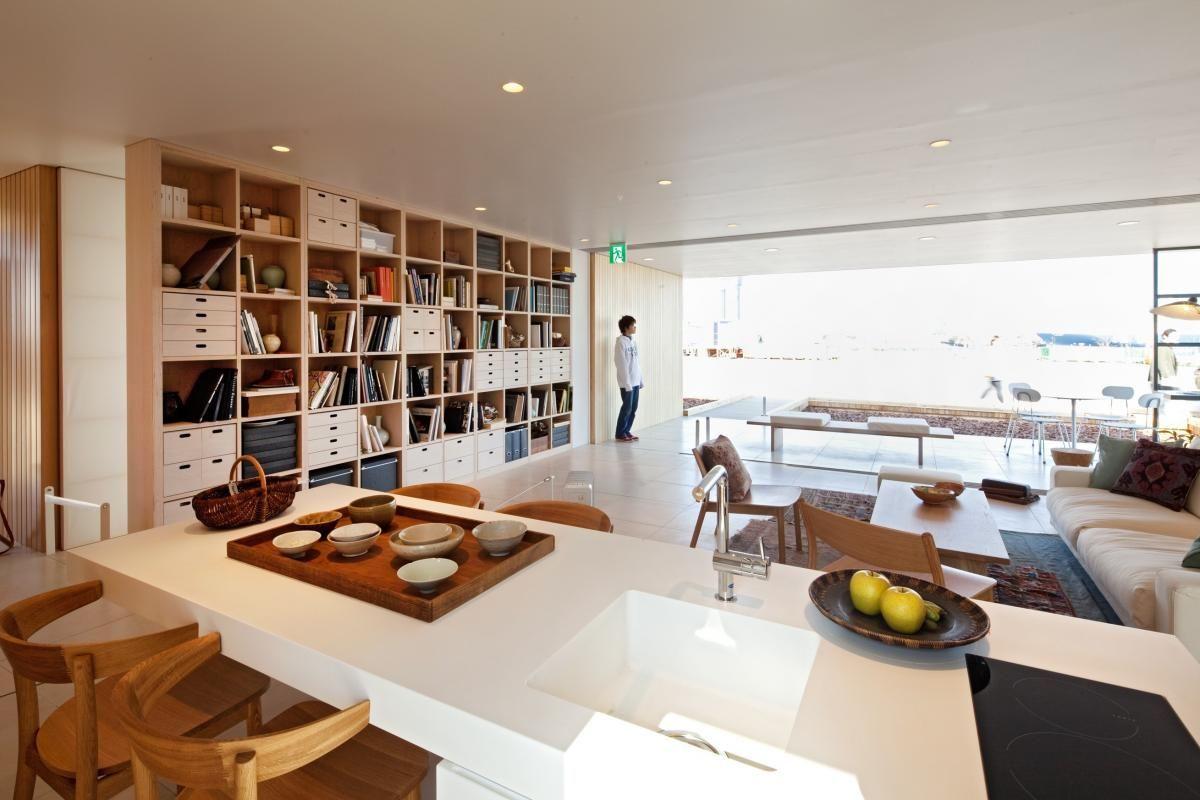 Woonkamer Van Muji : Muji style housing in