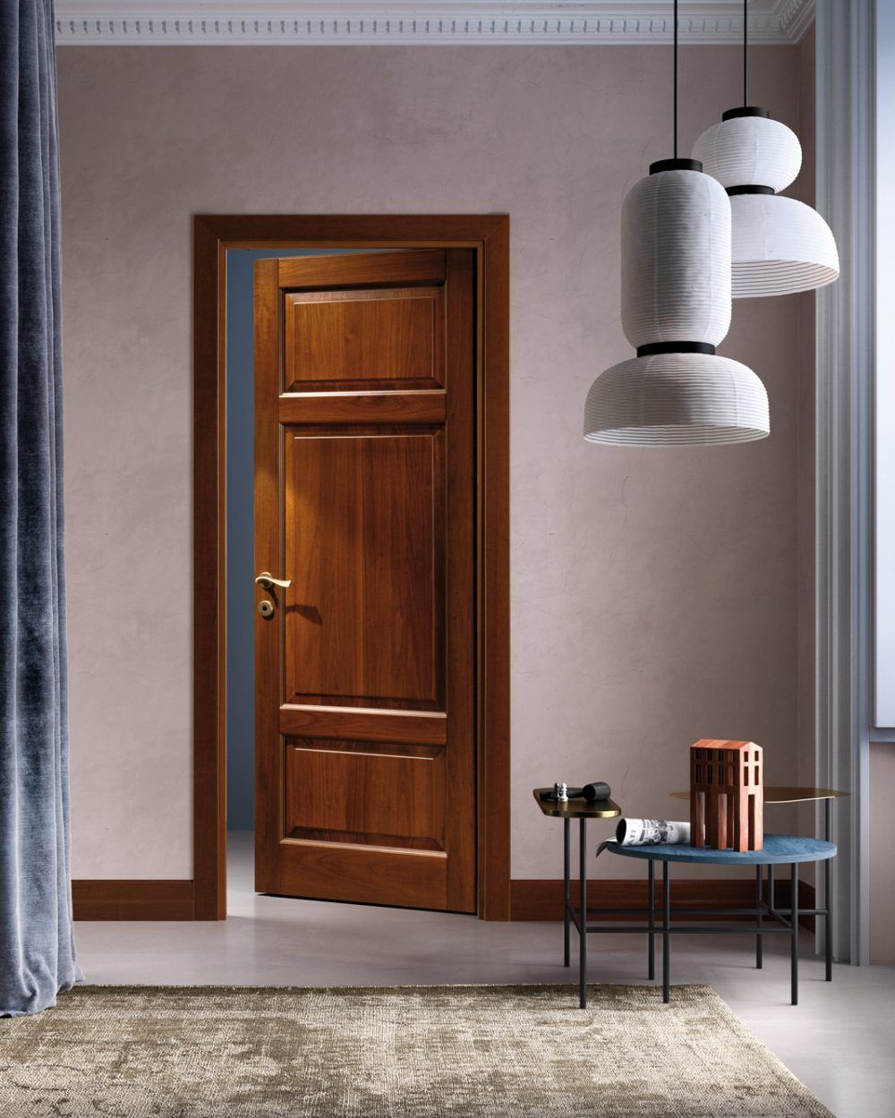Wood Door Porta In Legno In 2020 Wood Doors Interior Solid Wood Interior Door Interior