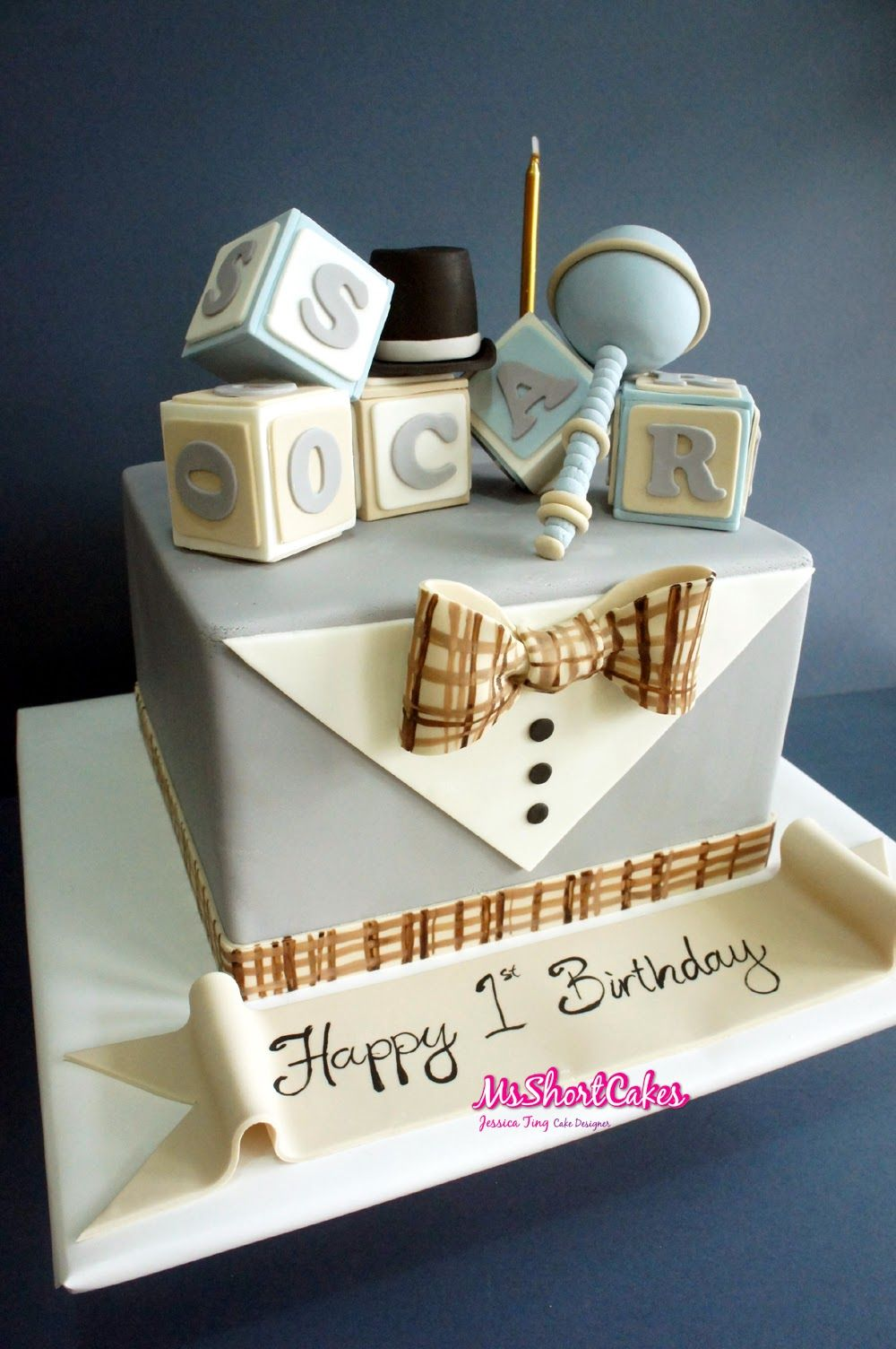Cake Ideas Aashvik turns ONE Pinterest Cake Shower cakes and