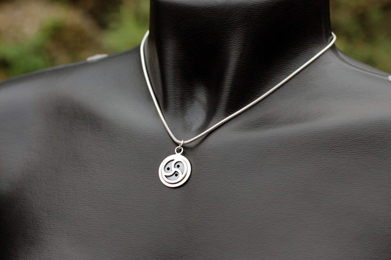 Bdsm symbol bdsm triskele pendant bondage jewelry sterling silver bdsm symbol bdsm triskele pendant bondage jewelry sterling silversm emblem by erosmoon on biocorpaavc Gallery