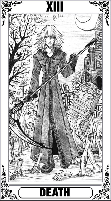 KH Tarot: Death by Autumn-Sacura | Kingdom Heart | Pinterest ...