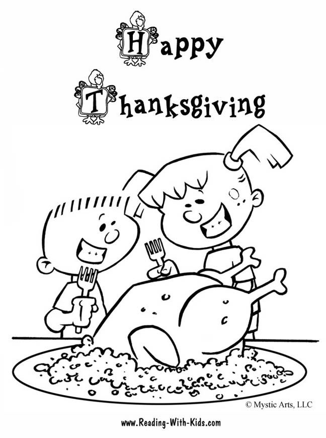 Thanksgiving coloring pages and puzzles | School Fun | Pinterest ...