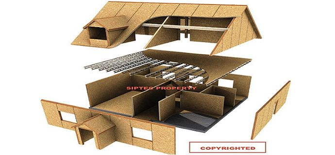 Structural Insulated Panel Technology Siptec Structural Insulated Panels Insulated Panels Roof Panels